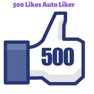 500 Likes Auto Liker